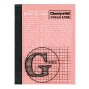 Chartpak CVB34G Vellum Gridded Sketchbook 3 in. x 4 in.