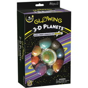Glowing 3D Planets Kit-