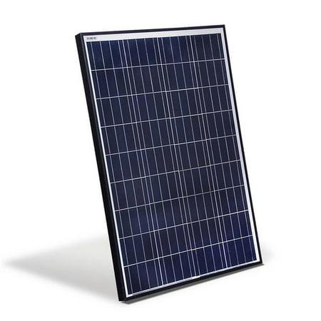 ALEKO PP100W12V ETL Polycrystalline Modules Solar Panel, 100W 12V
