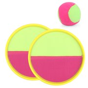 3PCS Toss and Catch Game Set Funny Portable Sport Game Set Paddle Catch Ball Set
