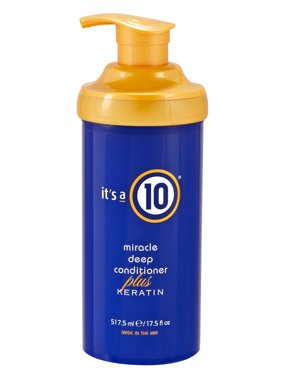($61.81 Value) It's A 10 Miracle Deep Conditioner Plus Keratin, 17.5 oz