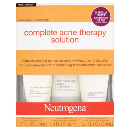 Neutrogena Complete Acne Therapy Solution Kit