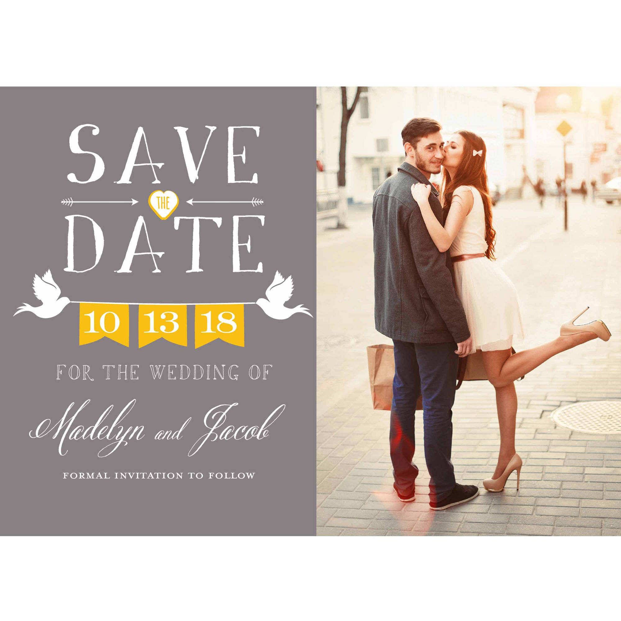 doves standard save the date walmart com