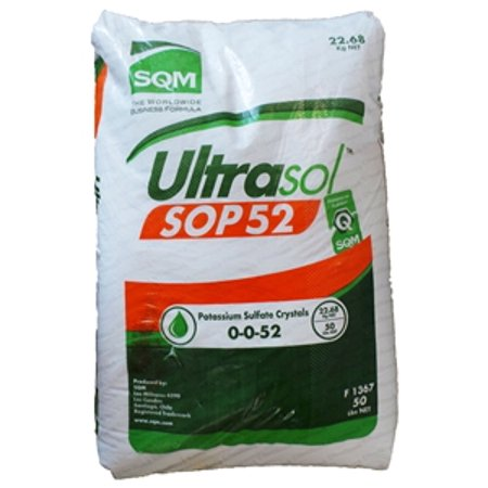 Sulfate Of Potash 0 0 52 Granular Fertilizer   50 Lbs