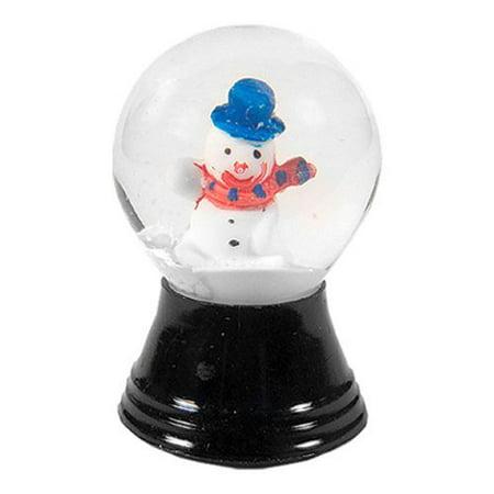 Mini Snowman Snow Globe