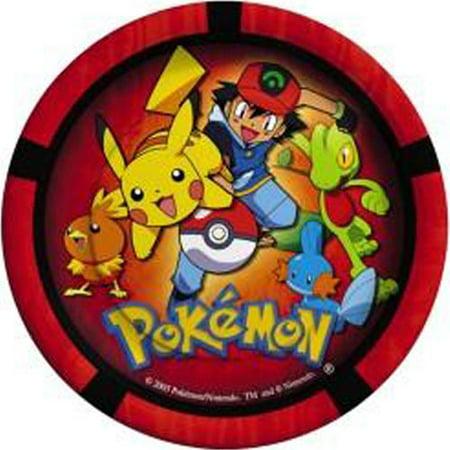 Pokemon 'Pokemon Party' Small Paper Plates - Pokemon Plates