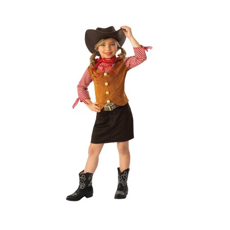 Girls Gun Slinger Cowgirl Halloween - Halloween Costumes Jail Girl