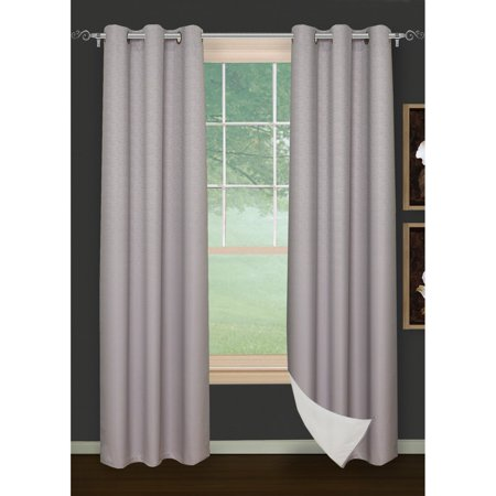 Safdie and Co Brick Blackout 2 Piece Curtain Panel (Brick Stove Panel)