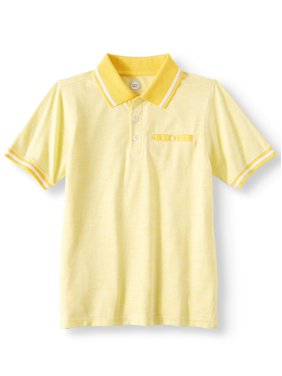 731edd412 Product Image Wonder Nation Short Sleeve Stretch Jersey Polo (Little Boys &  Big Boys)