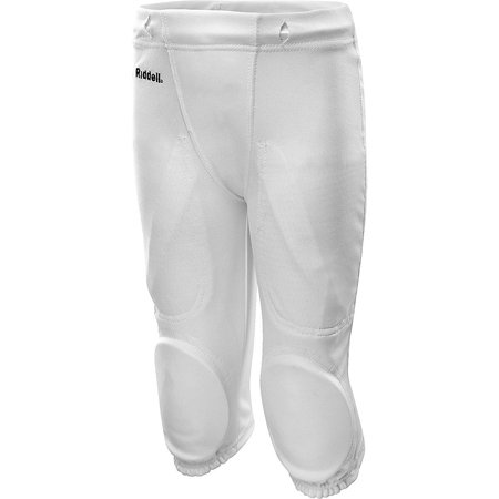 Riddell Integrated Knee Pads Football Pants White Youth ()