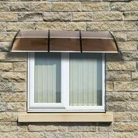 "Ktaxon Window Awning Door Canopy Patio Cover 120""x40"""