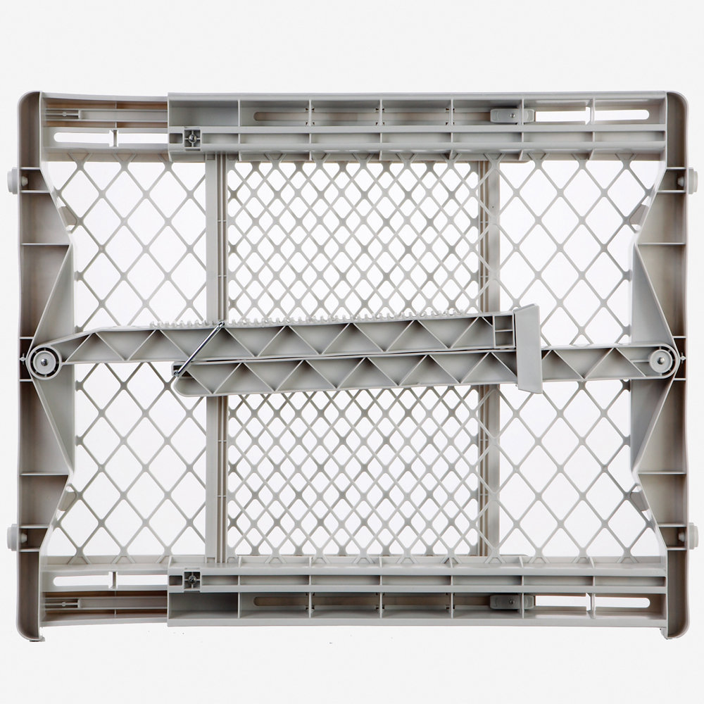 "North States Top-Notch Pressure Mounted Pet Gate White 28"" - 41"" x 23"""