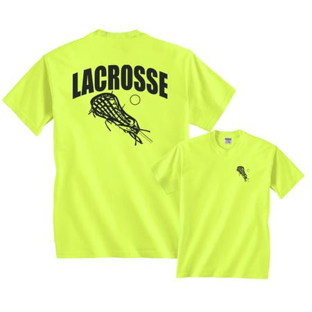 Lacrosse Arch Sticks lax ball (Lacrosse T-shirt Tee)