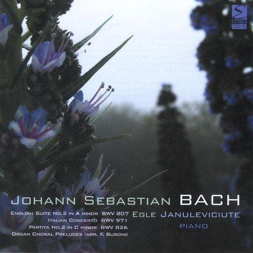J.S. Bach - English Suite 2/Italian Con/Partita 2/Organ Choral [CD]