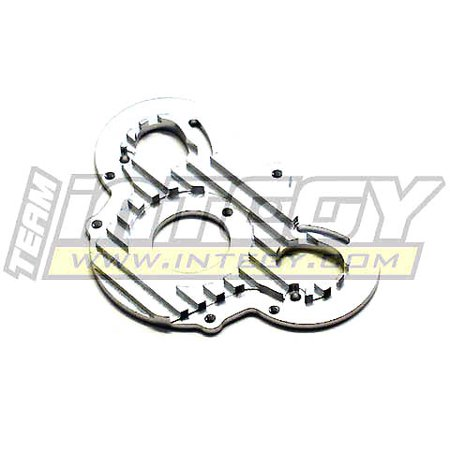 Savage Motor Plate - Integy RC Toy Model Hop-ups T6960SILVER Alloy Motor Plate for HPI E-Savage