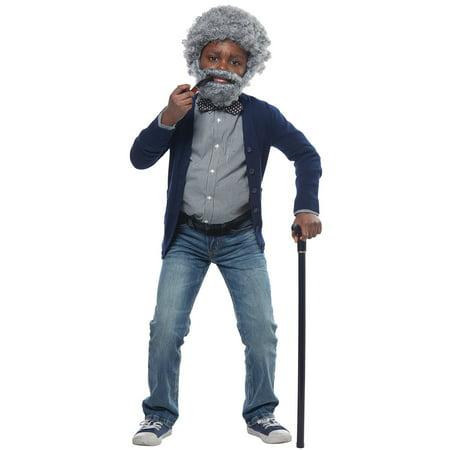 Grandpa Child Costume Kit