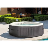 Intex 140 Bubble Jets 6-Person Octagonal Portable Inflatable Hot Tub Spa