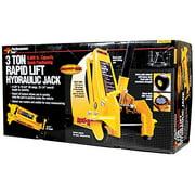 Performance Tool W1616 3 Ton (6,000 lbs.) Capacity Rapid Lift Floor Jack
