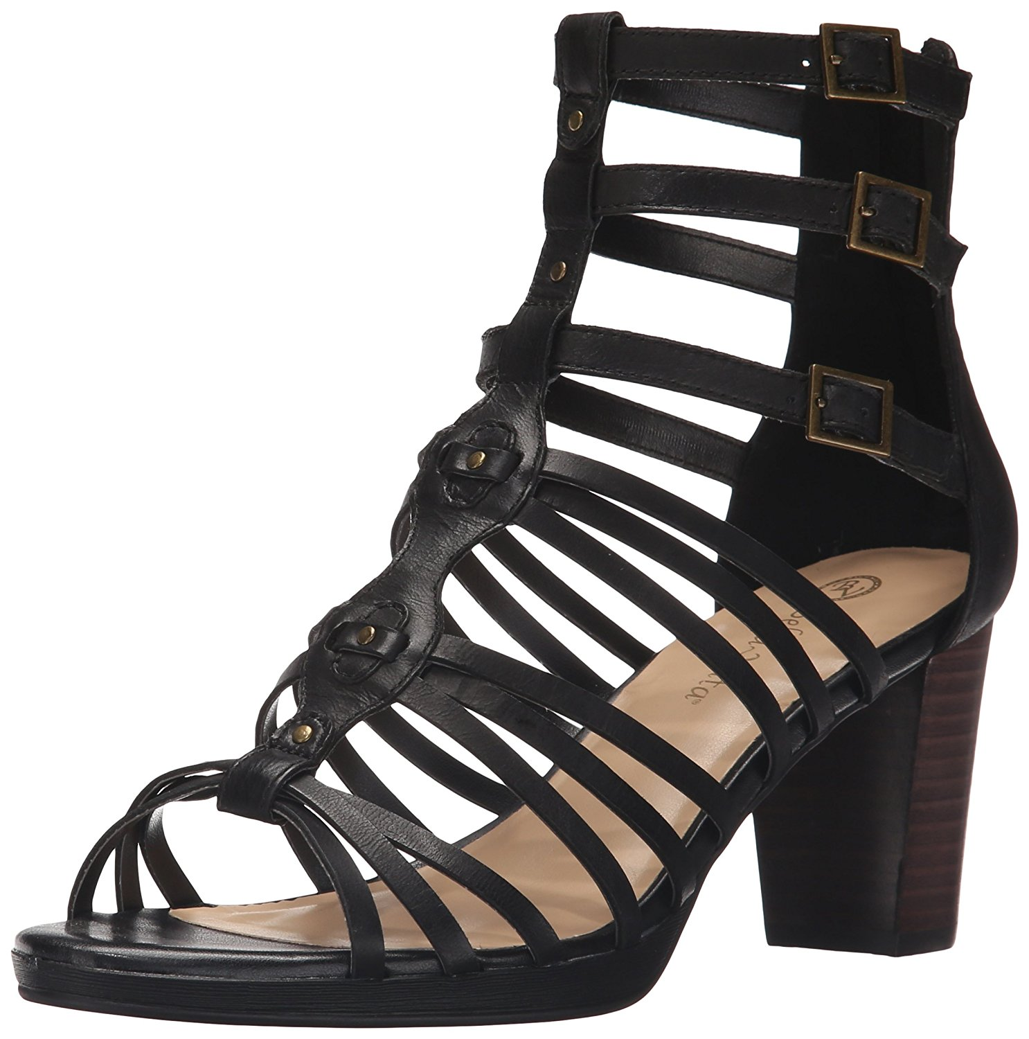Bella Vita Womens Layne Leather Open Toe Special Occasion Strappy Sandals by Bella Vita