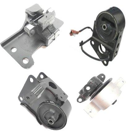 Fits: 2003-2007 Nissan Murano 3.5L 2WD Engine Motor & Trans. Mount Set 4PCS w/ Sensor 03 04 05 06 07 A7348 A7358 A7349EL A4321 (Surface Mount Sensor)