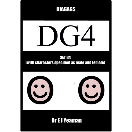 Diagags Set G4 (with Characters Specified as Male and Female) - eBook