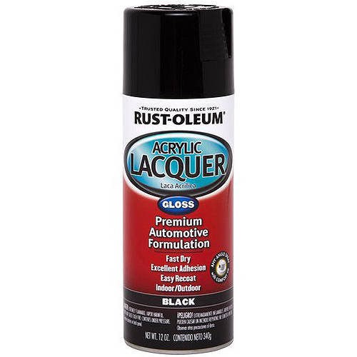 Rust-Oleum Acrylic Lacquer Gloss, Clear