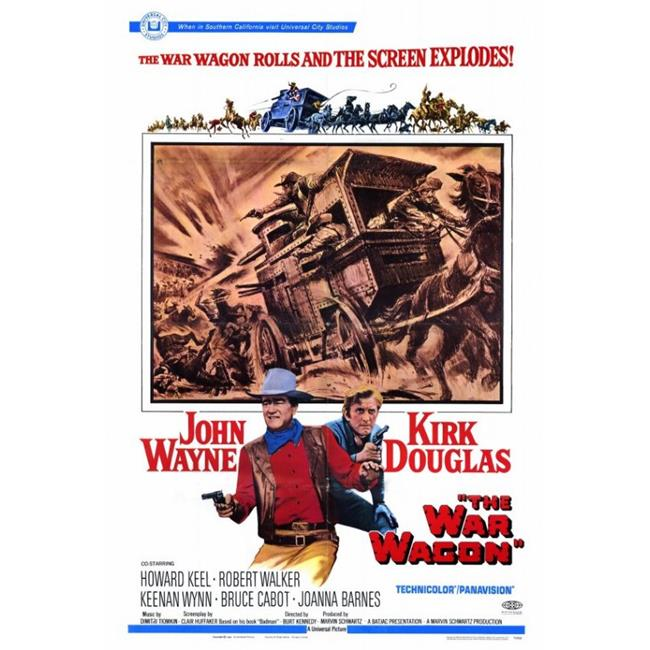 Posterazzi MOVIF1448 The War Wagon Movie Poster - 27 x 40 in. - image 1 of 1
