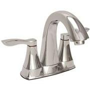 Premier Waterfront Lavatory Faucet 2 Handle Chrome Less Popup