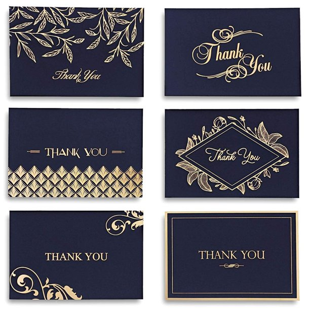 48 counts thank you cards and envelopes blank thank you