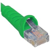 ICC Patch Cord, Cat 5e, Molded Boot, Green ICPCSJ05GN