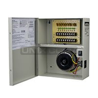 TR-C24VAC09P25A  AC24V 9CH 2.5A Non-Fused Breaker Power -