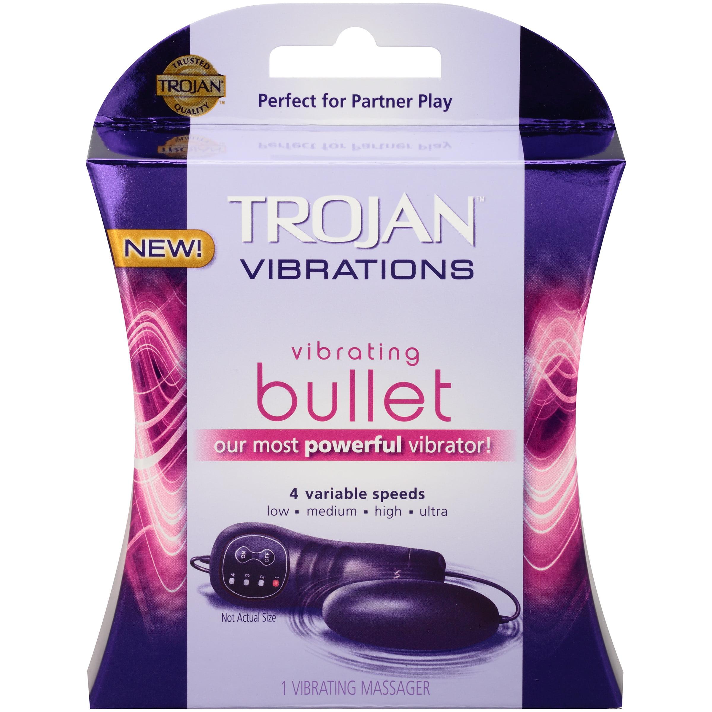 Trojan Vibrations Vibrating Bullet Personal Massager
