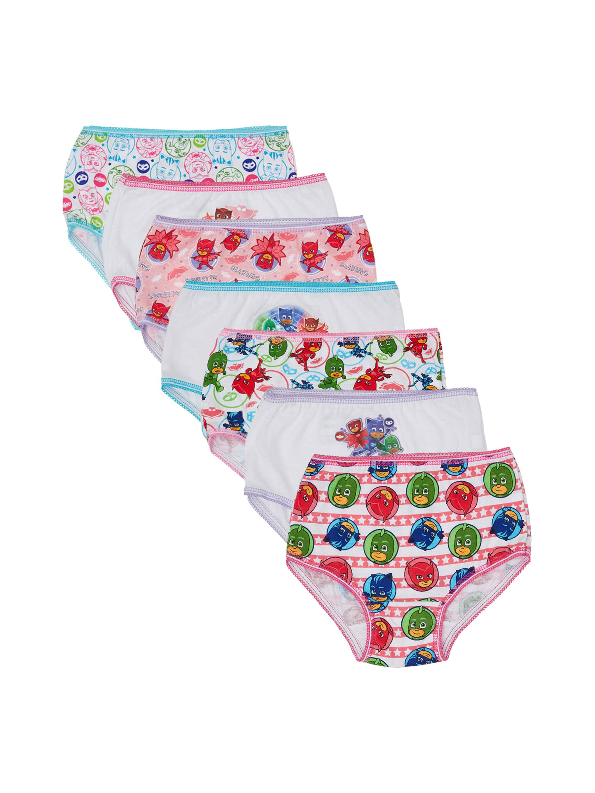 Toddler Girl Underwear, 7-pack