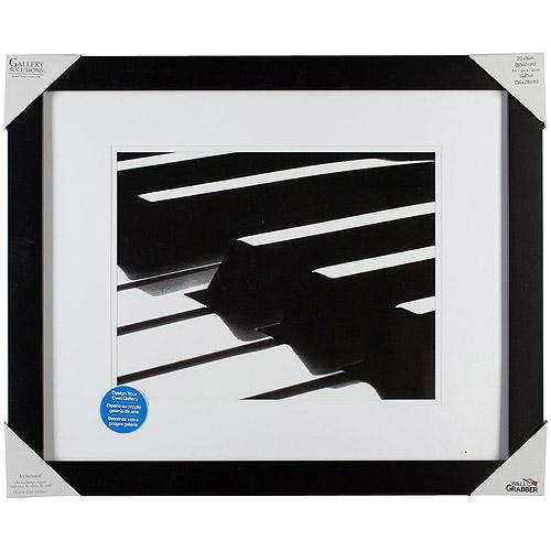 Pinnacle Frame Gallery Mat Frame, 20x16, Black