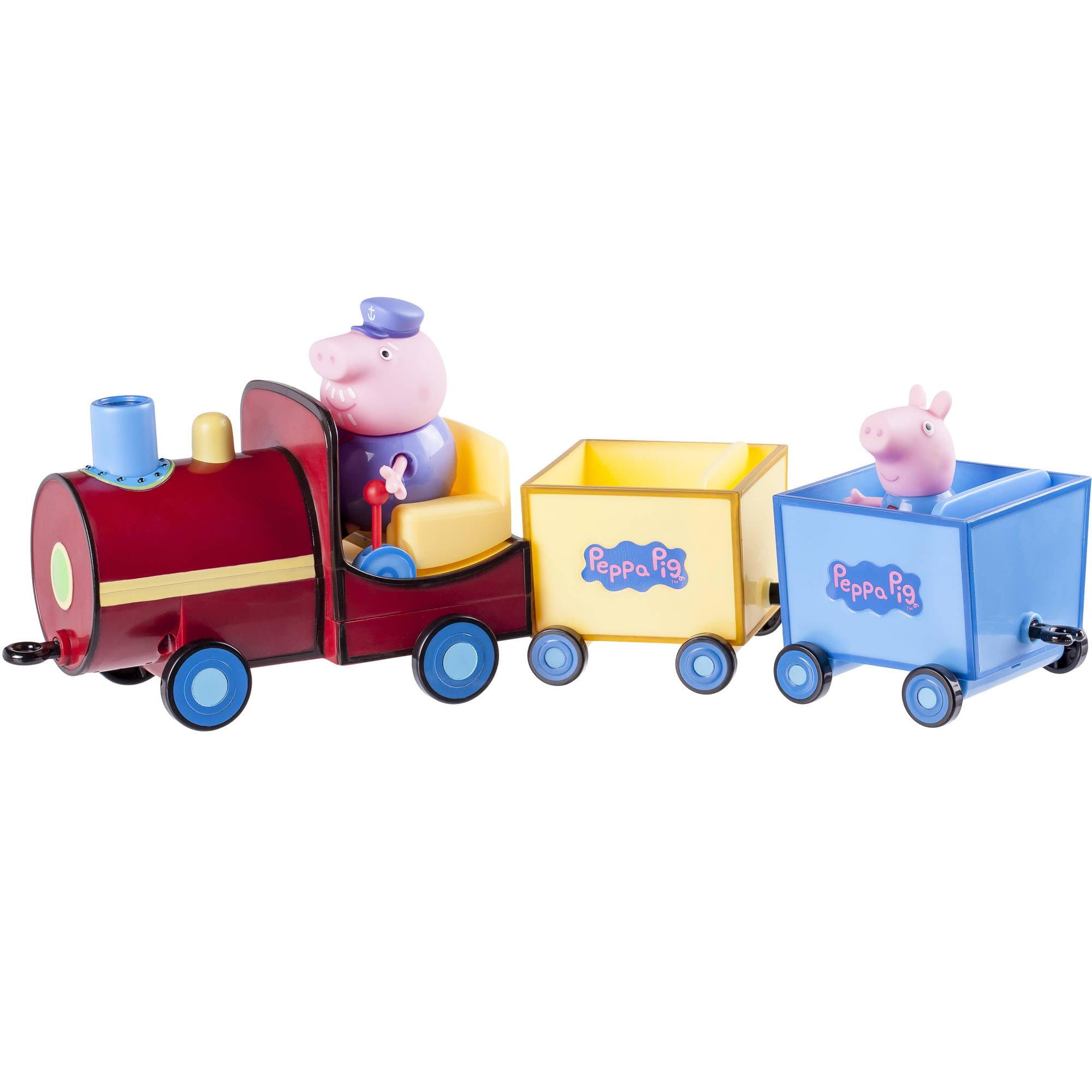 Peppa Pig Grandpa Train with 3 Figures
