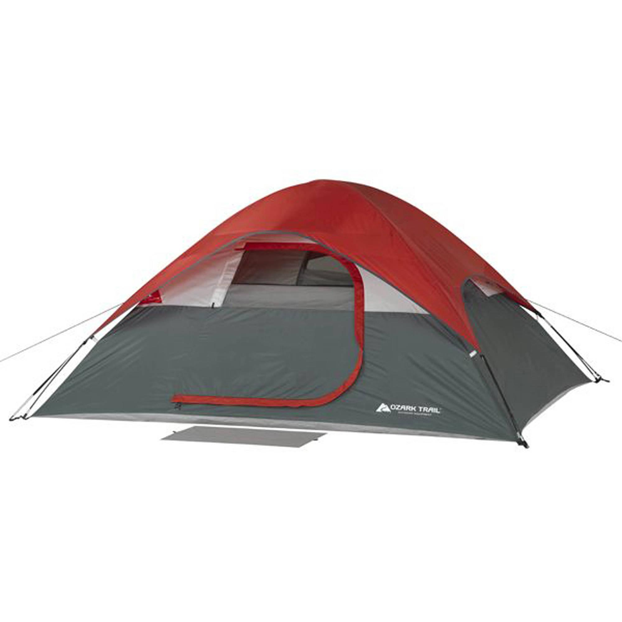 Ozark Trail 9' x 7' Dome Camping Tent, Sleeps 4