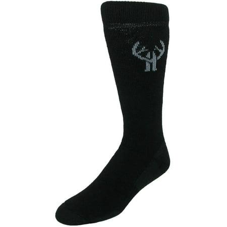 Size one size Men's Merino Wool Hiker Boot Sock (2 Pair Pack),