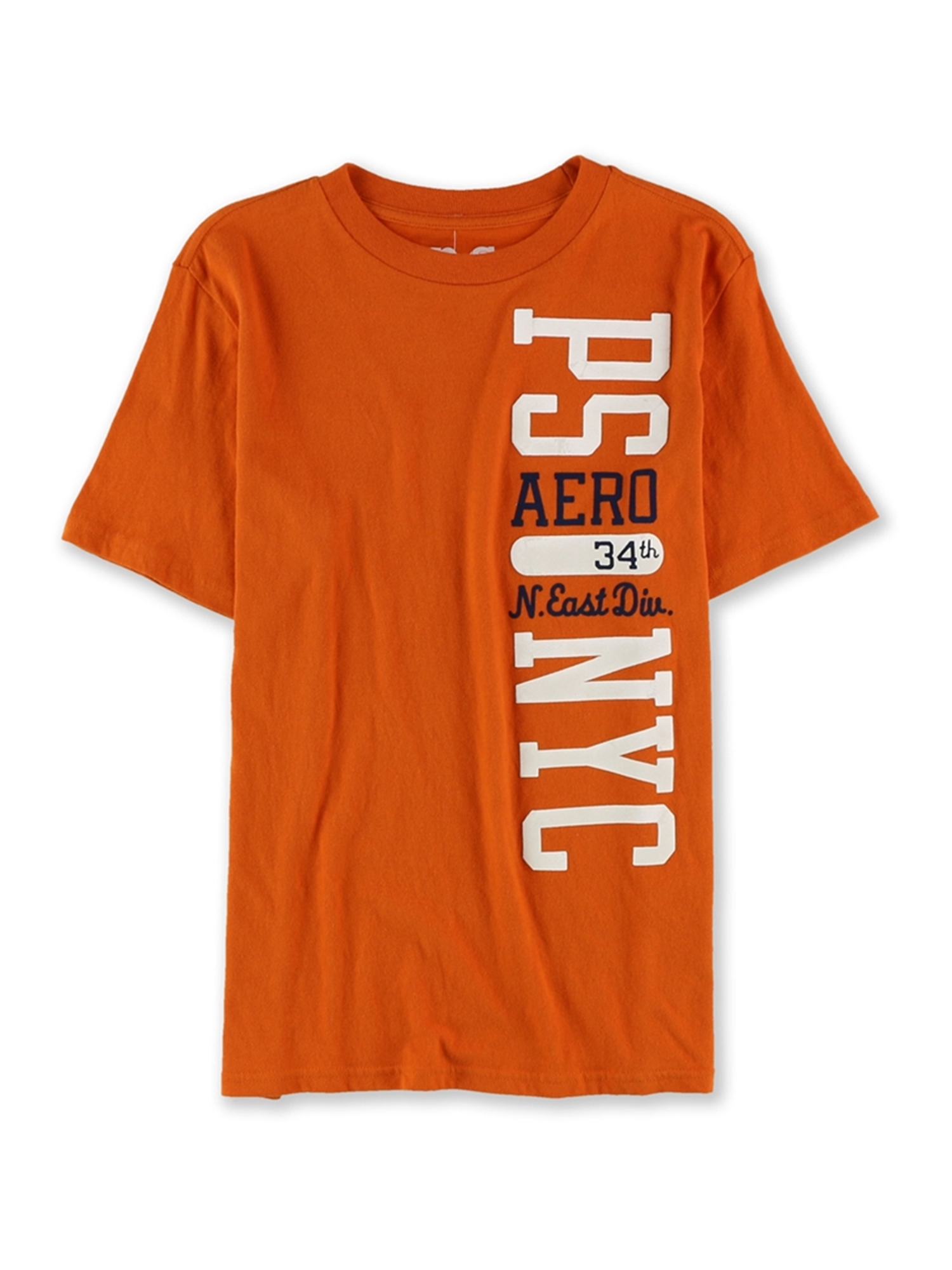 Aeropostale Boys Nyc Puff Paint Graphic T-Shirt