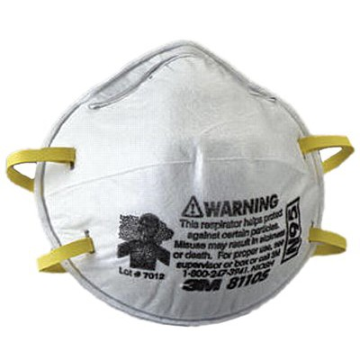 3M Personal Safety Division N95 Particulate Respirators 8110S SEPTLS1428110S by