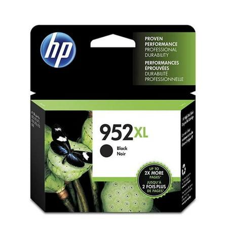 HP 952XL Black Original Ink Cartridge (F6U19AN)