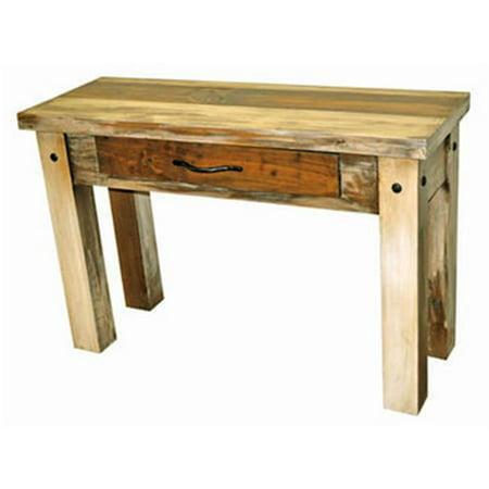 Million dollar rustic 06 2 65 65 sofa slatted wood sofa for 65 sofa table