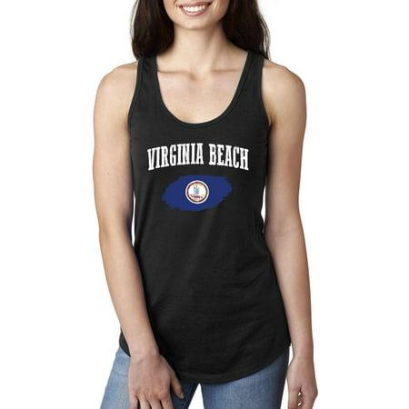 Virginia Beach Virginia Womens Tops Next Level Racerback](Party City Virginia Beach)