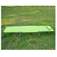 Lightweight Outdoor Patio Folding Chaise Lounge Chair - Spring Green