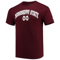 Men's Russell Athletic Maroon Mississippi State Bulldogs Core Print T-Shirt