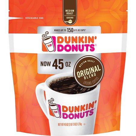 Product of Dunkin Donuts Ground Coffee, 45 oz. [Biz Discount]