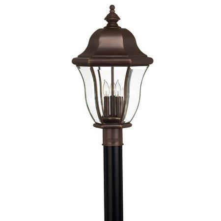 Hinkley Lighting H2331 3 Light Post Light From The Monticello Collection