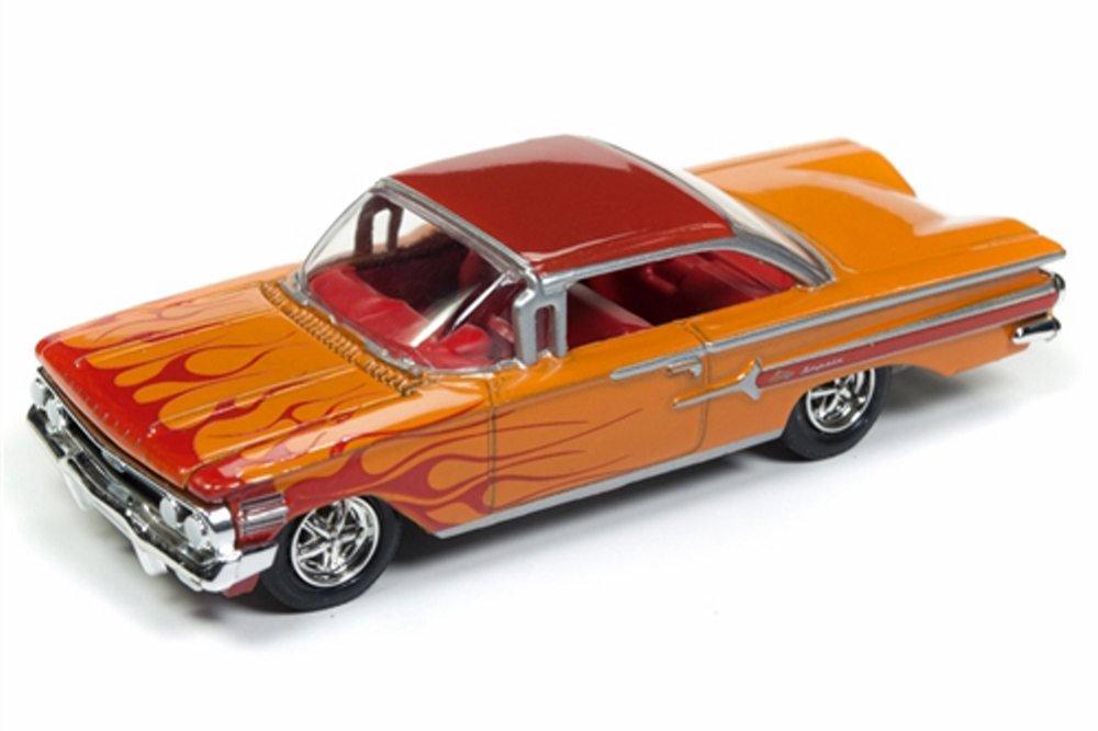 1960 chevy impala, orange flames round 2 rc008 48b 1 64 Toyota Toy Cars 1960 chevy impala, orange flames round 2 rc008 48b 1 64