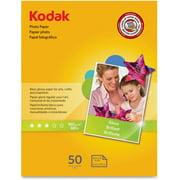 "KODAK Photo Paper Gloss 8.5""x11"", 50 count, 48lb-180g/m2 weight, 6.5 mil thickness (41162 - 1213719)"