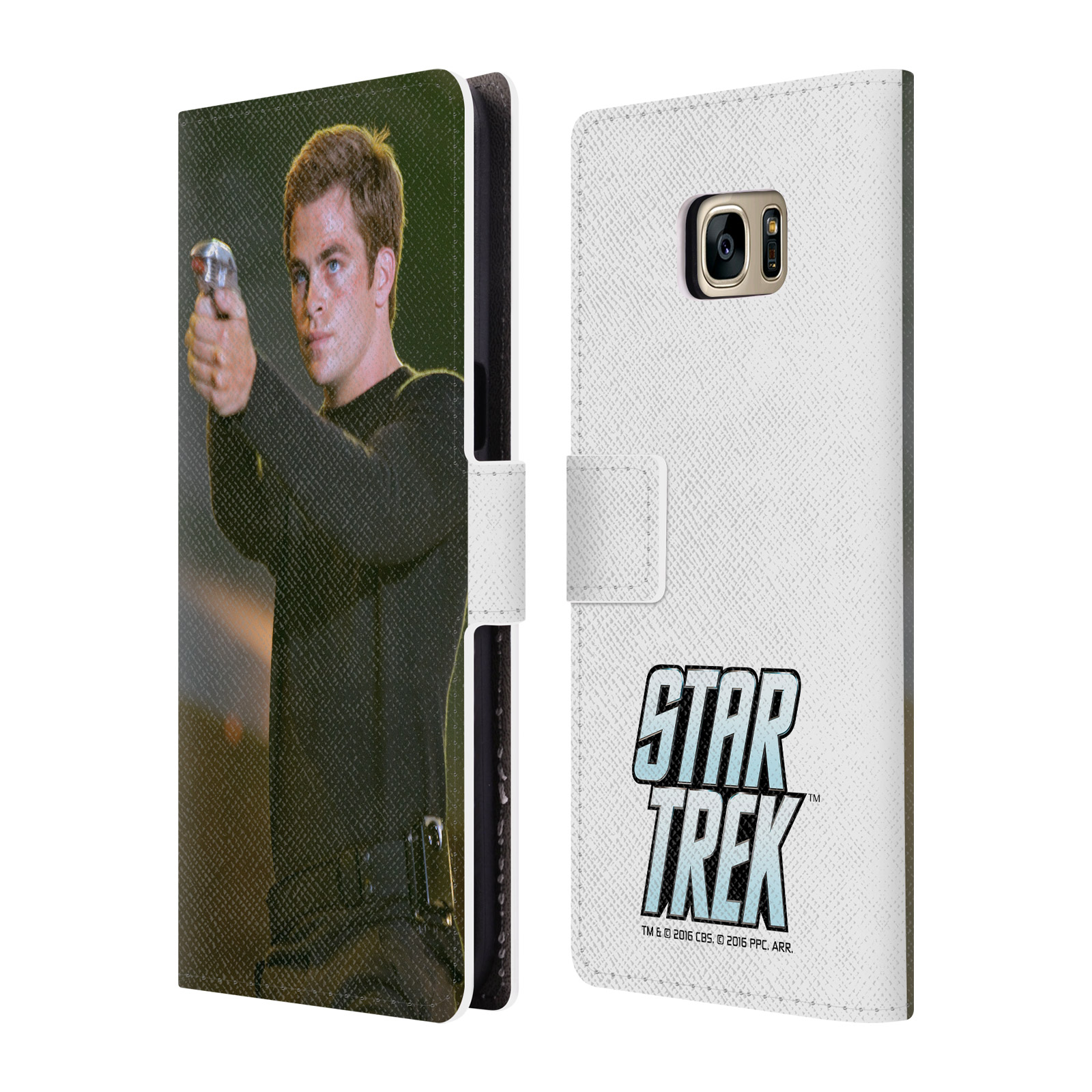 OFFICIAL STAR TREK MOVIE STILLS REBOOT XI LEATHER BOOK WALLET CASE COVER FOR SAMSUNG PHONES 1