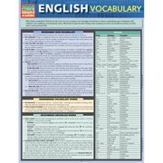 BarCharts 9781423217305 English Vocabulary Quickstudy Easel
